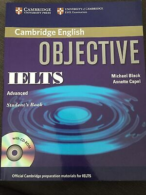 £10 • Buy Cambridge English Objective IELTS Advanced Students Book And CD