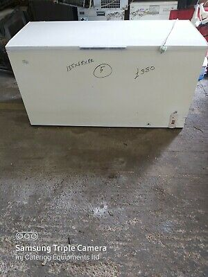 £380 • Buy Derby Commercial Chest Freezer Solid Work Top White 155cm 489Liter Used Serviced