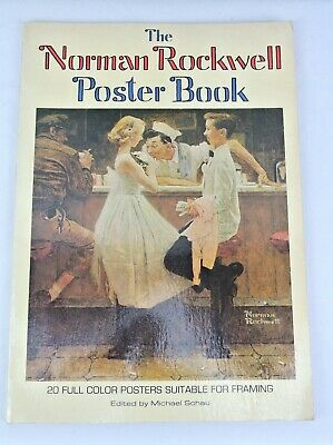 $ CDN35.29 • Buy 1976 First Edition 1st Printing THE NORMAN ROCKWELL Poster Book (20 Posters)