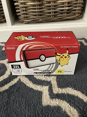 AU419 • Buy Poke Ball Edition BRAND NEW New Nintendo 2DS XL Console 3DS Pokemon Collectible