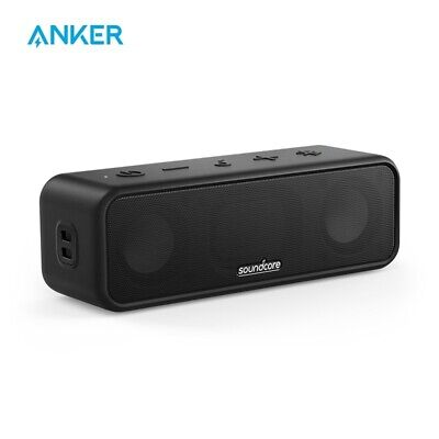 AU77.83 • Buy Anker Soundcore 3 Bluetooth Speaker Stereo Sound 24H Playtime