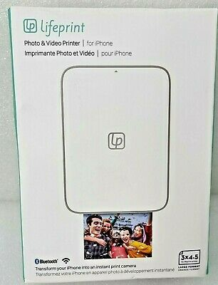 £42.94 • Buy Lifeprint LP002-1 3x4.5 Portable Photo Printer For Apple IPhone & Android