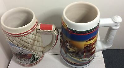 $ CDN43.74 • Buy Budweiser Stein Mugs Lot Of 2