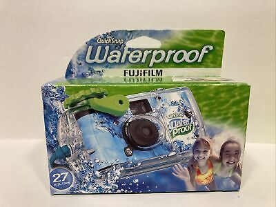 £9.22 • Buy Underwater Disposable Camera Waterproof Quicksnap 27 Exposures Fujifilm 800 4/12