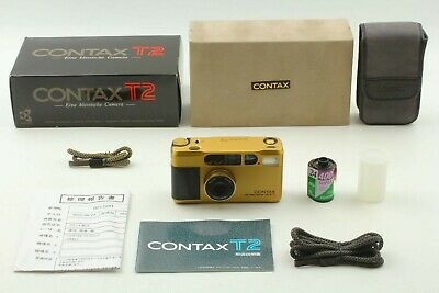 $ CDN2368.36 • Buy 【Almost UNUSED In BOX 】Contax T2 Gold 35mm Point & Shoot Film Camera From JAPAN