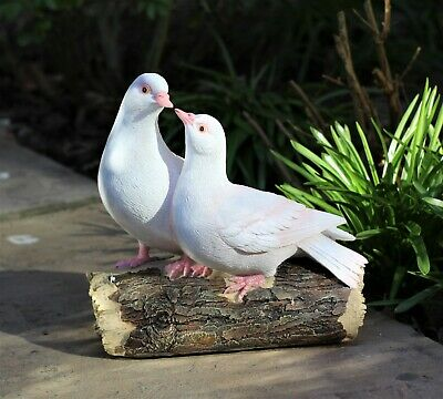 £17.95 • Buy Garden Ornament Love Doves Turtle Home Decor Birds Windlife