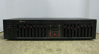 $ CDN198.87 • Buy Vintage Sherwood Model EQ460B Stereo Graphic Equalizer Tested And Working