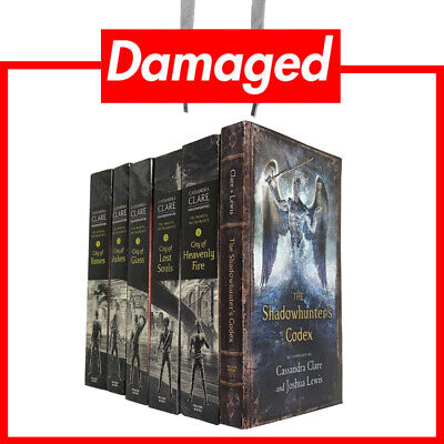 £11.99 • Buy Cassandra Clare Mortal Instruments Incomplete 6 Books Collection Set (Damaged)