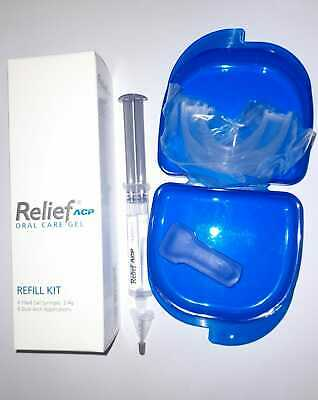 AU27.18 • Buy Philips Teeth Whitening Bleach Relief Gels For Tooth Sensitivity With/wout Trays