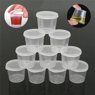 AU12.36 • Buy 30 Pack Slime Containers Food Craft Storage With Lids Plastic Box