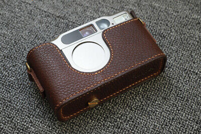 $ CDN57.68 • Buy Funper Genuine Real Leather Half Case For Contax T2 Camera Protector