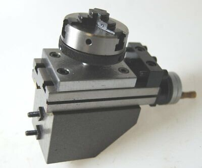 AU88.17 • Buy 50 Mm Dia 3 Jaw Lathe  Chuck On Plate For Milling Slide Etc From Chronos !
