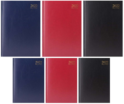 £5.50 • Buy 2022 A4 A5 A6 Day To Page Or Week To View Diary Full Year Planner Hardback