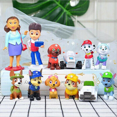 £7.66 • Buy 12pc/Set Paw Patrol Cake Toppers Action Figures Puppy Dog Kids Toy Gift 2nd