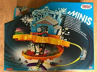 £39.95 • Buy Thomas & Friends Minis Steelworks Stunt Set By Fisher Price ~ Brand New ~