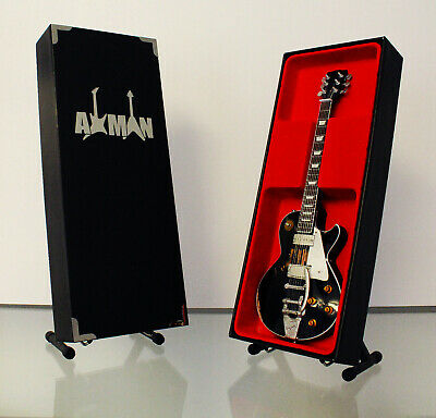 $ CDN48.45 • Buy Neil Young Miniature Guitar Replica With Display Case And Stand