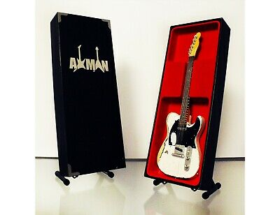 $ CDN48.45 • Buy Rick Parfitt (Status Quo) Miniature Guitar Replica With Display Case And Stand