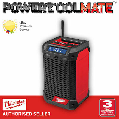 £142.99 • Buy Milwaukee M12RCDAB+-0 12V Radio And Charger Bare Unit