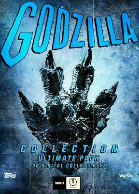 $125 • Buy Topps Godzilla NFT Wax Digital - Ultimate Pack Of 30 Cards - SOLD OUT