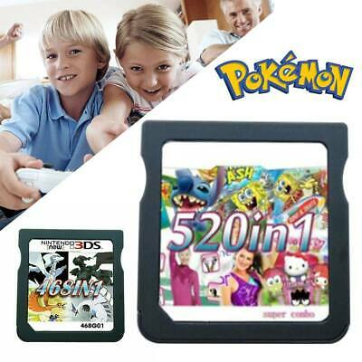 AU24.36 • Buy All In 1 Video Game Cartridge Console Card For Nintendo NDSL NDS 2DS 3DS NDSI UK