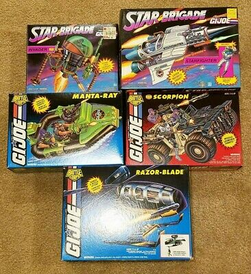 $ CDN594.43 • Buy Lot Of 12 GI Joe Battle Corps And Star Brigade Vehicles MIB