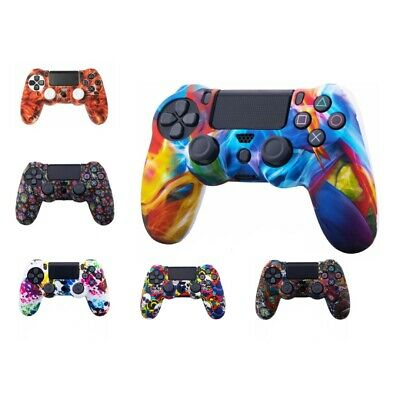 AU5.59 • Buy For Playstation PS4 Gamepad Controller Silicone Skin Shell Protective Cover Case