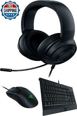 AU141.66 • Buy Gaming Keyboard And Mouse Combo Headset Chroma Backlight Computer Desktop Wired