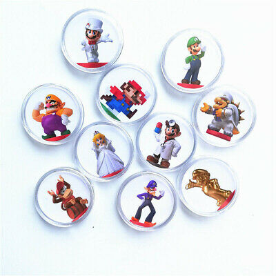 AU16.79 • Buy 10Pcs/lot Super Mario Odyssey NFC Game Card Of Amiibo Ntag215 Collection Coin AU