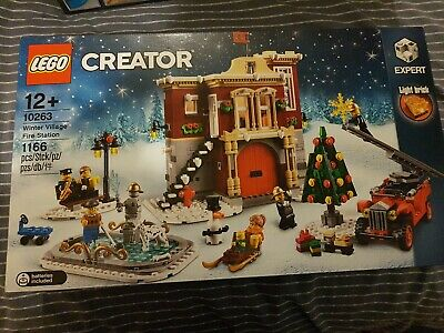 Lego Creator Expert Winter Village Fire Station (10263) Now Retired  • 99.95£
