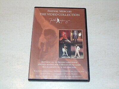 £17.49 • Buy FREDDIE MERCURY - The Video Collection - Year 2000 UK 11-track PAL System DVD