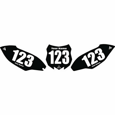 $40.66 • Buy Attack Graphics Number Plate Backgrounds - Fits: Kawasaki KX85 2002