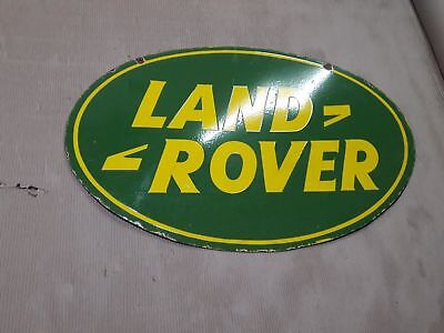 $ CDN470.74 • Buy Porcelain Land Rover Enamel Sign 36 X 24 Inches Double Sided.