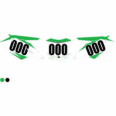 $46.79 • Buy Attack Graphics Moto Recruit Number Plate Backgrounds - Fits: Kawasaki KX85 2002