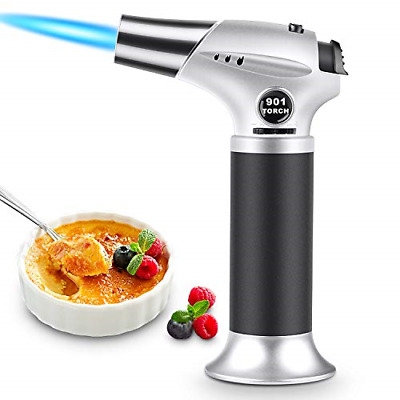 £18.51 • Buy Blow Torch, Professional Kitchen Cooking Torch With Safety Lock, Adjustable Mini