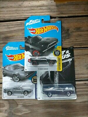 AU13.95 • Buy Four Movie Themed Hot Wheels, Fast And The Furious And James Bond Mustang