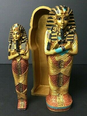 £147.83 • Buy Modern Replica Of Egyptian Sarcophagus With Mummy