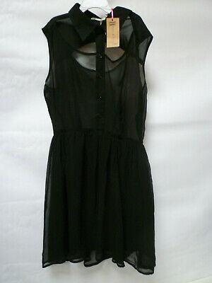 £7.95 • Buy Hearts And Bows Little Black Dress Bnwt New - UK 8