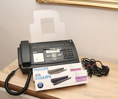 Philips Magic 5 Eco Primo Plain Paper Fax With Telephone / Copier & 2 NEW FILMS • 75£