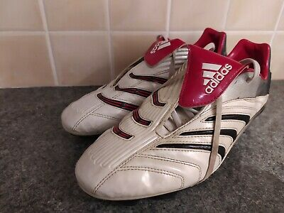 £100 • Buy 2006 Adidas Predator Absolute White Red Black Football Boots Beckham Size 9