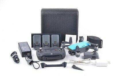 AU515.03 • Buy Exc++ Dji Spark Drone, 5 Batteries, Signal Booster, Xtra Props, Tested, Great!
