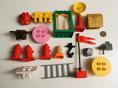 £19.99 • Buy Duplo Bundle - Assorted Accessories - Chairs - Flag - Table - Swing - Spares