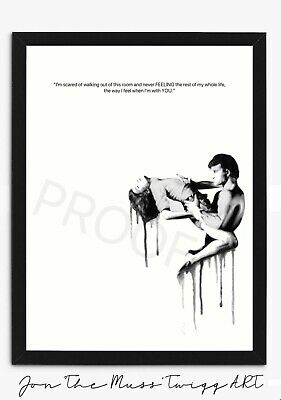 """£11.99 • Buy Cry To Me: Dirty Dancing Film Quote Modern Art Fashion Print (12""""x8"""")"""