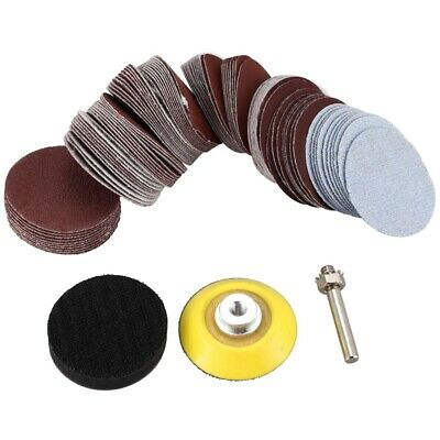 AU15.77 • Buy 2 Inch 100PCS Sanding Discs Pad Kit For Drill Grinder Rotary Tools With N7W9