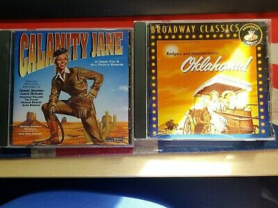 OKLAHOMA  + CALAMITY JANE Soundtracks Of The Motion Pictures CDs • 6.50£