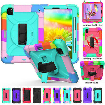 AU29.99 • Buy Kids Heavy Duty Tough Rugged Strap Case Cover For IPad Air 4 7/8th Gen Pro 11