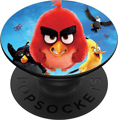AU14.99 • Buy Pop Grip Socket Swappable Universal Mobile Mount Tablet Holder Stand Angry Birds