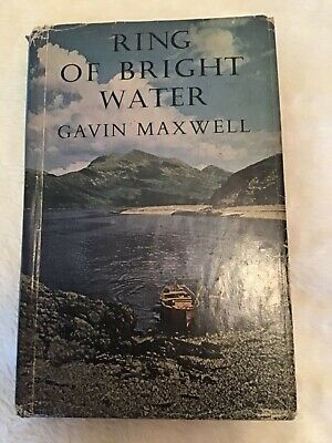 RING OF BRIGHT WATER BY GAVIN MAXWELL 1960 2nd Impression • 15£