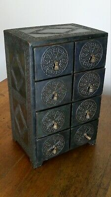 AU99 • Buy Antique Style Spice Medicine Cabinet With Drawers
