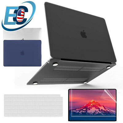 $16.99 • Buy For MacBook Air 13 M1 A2337 A2179 Rubberized Hard Case Keyboard Screen Protector