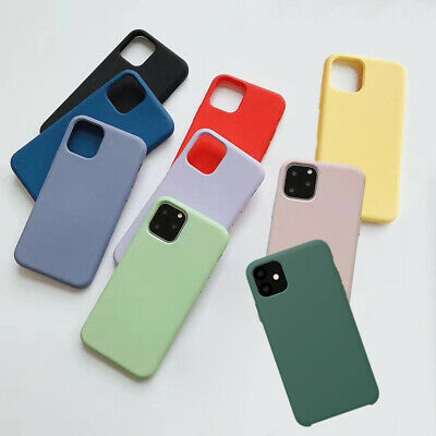 AU8.95 • Buy Shockproof Soft Silicone Case Bumper Smooth Cover For IPhone 13 12 11 Pro XS Max